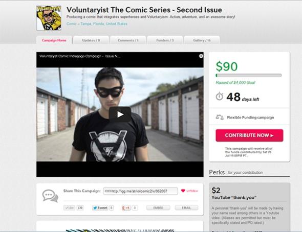 Voluntaryist Indiegogo Campaign 2