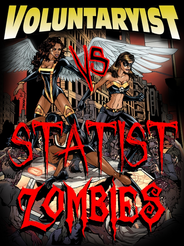 Ad Poster Statist Zombies