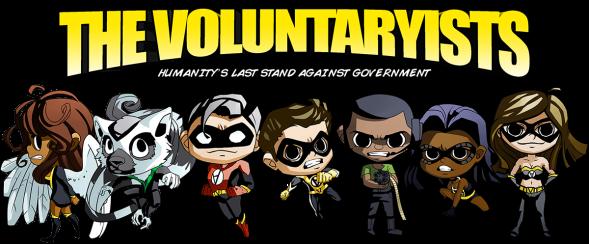 Voluntaryist Characters Chibis LOGO