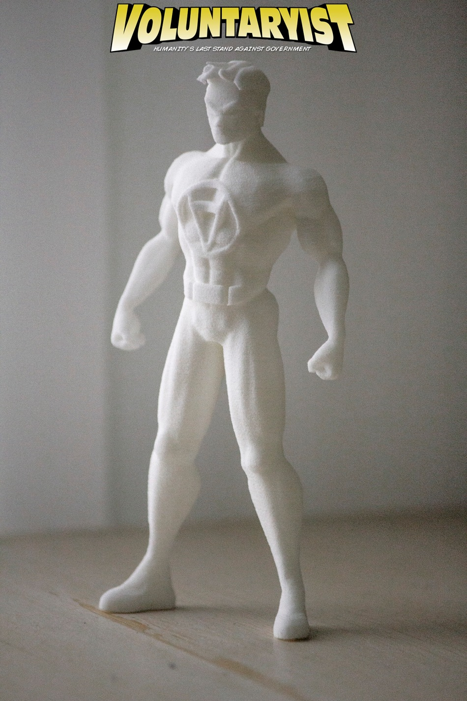 Voluntaryist Shapeways Prototype 1