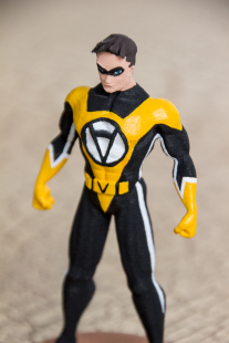 3D Printed Action Figure Voluntaryist 3