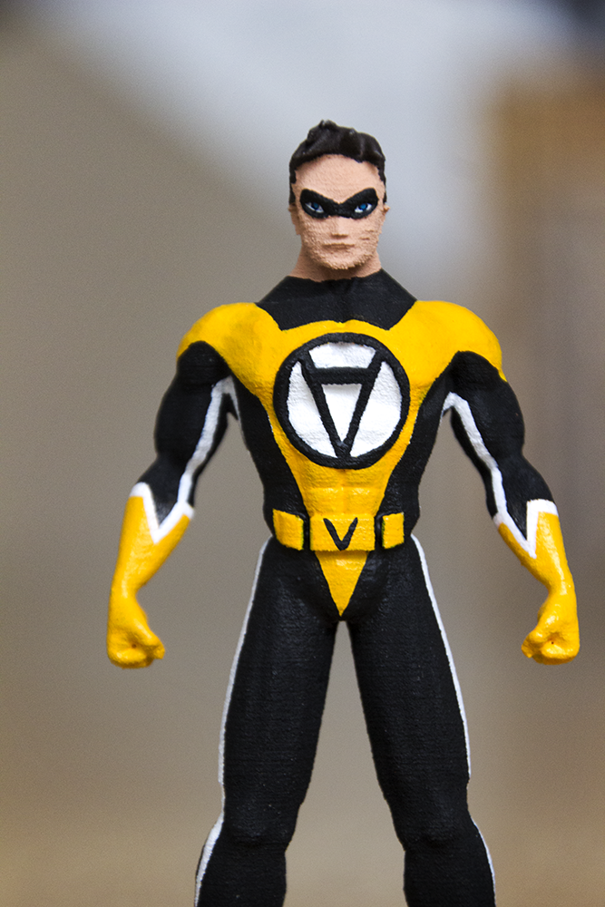 3D Printed Action Figure Voluntaryist 4