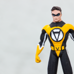 3D Printed Action Figure Voluntaryist 5