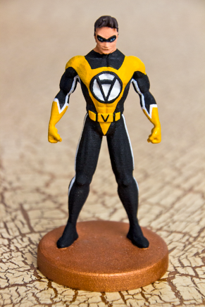 3D Printed Action Figure Voluntaryist 1