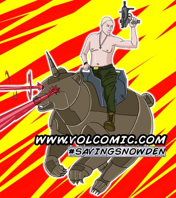 Putin on RoboBear