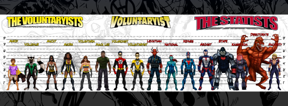 Voluntaryist Lineup Banner