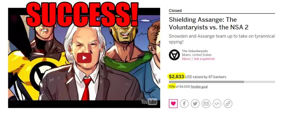 shielding assange success