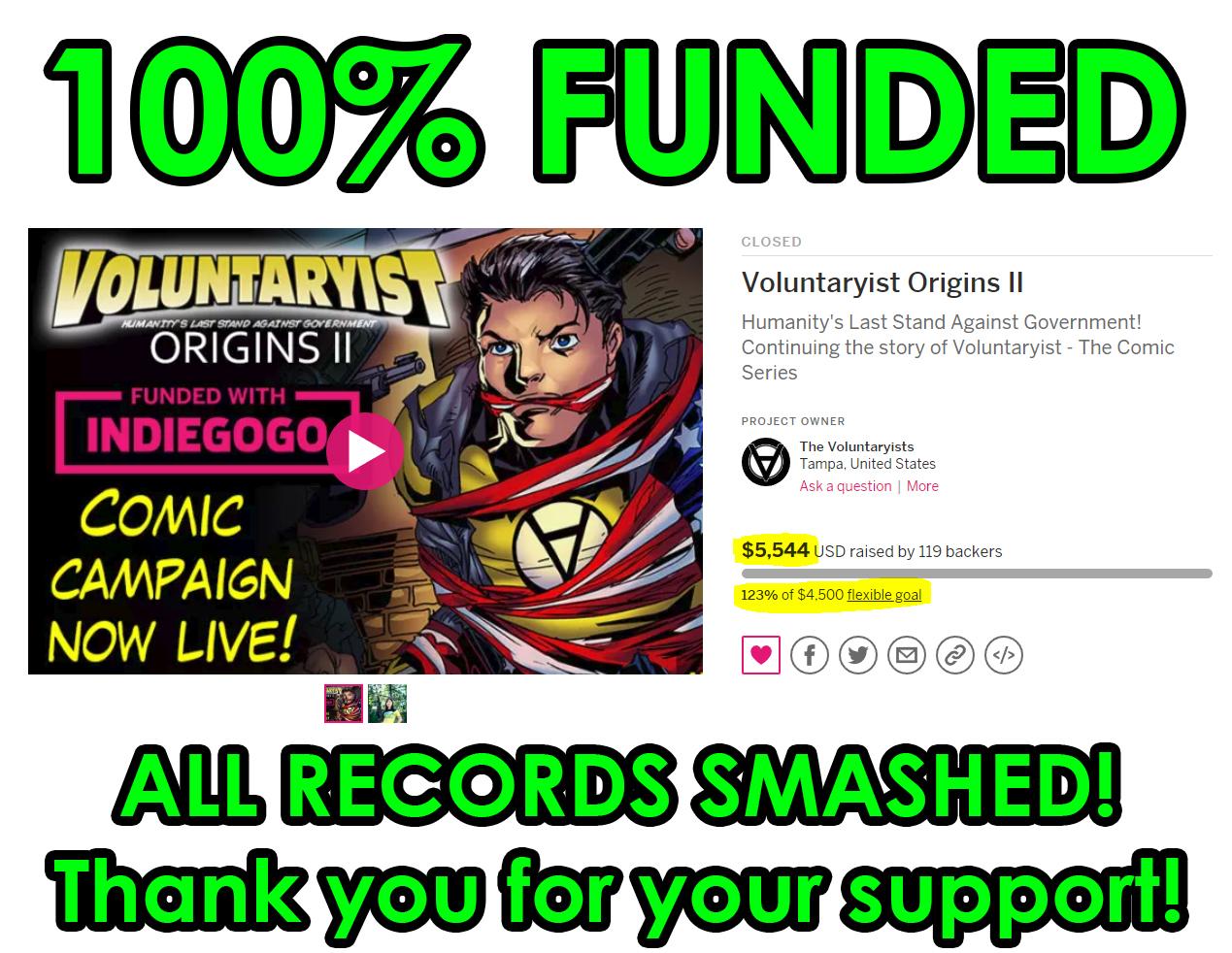Charming Voluntaryist Origins II Sneak Peek 1; Finished Campaign Voluntaryist  Origins II ...