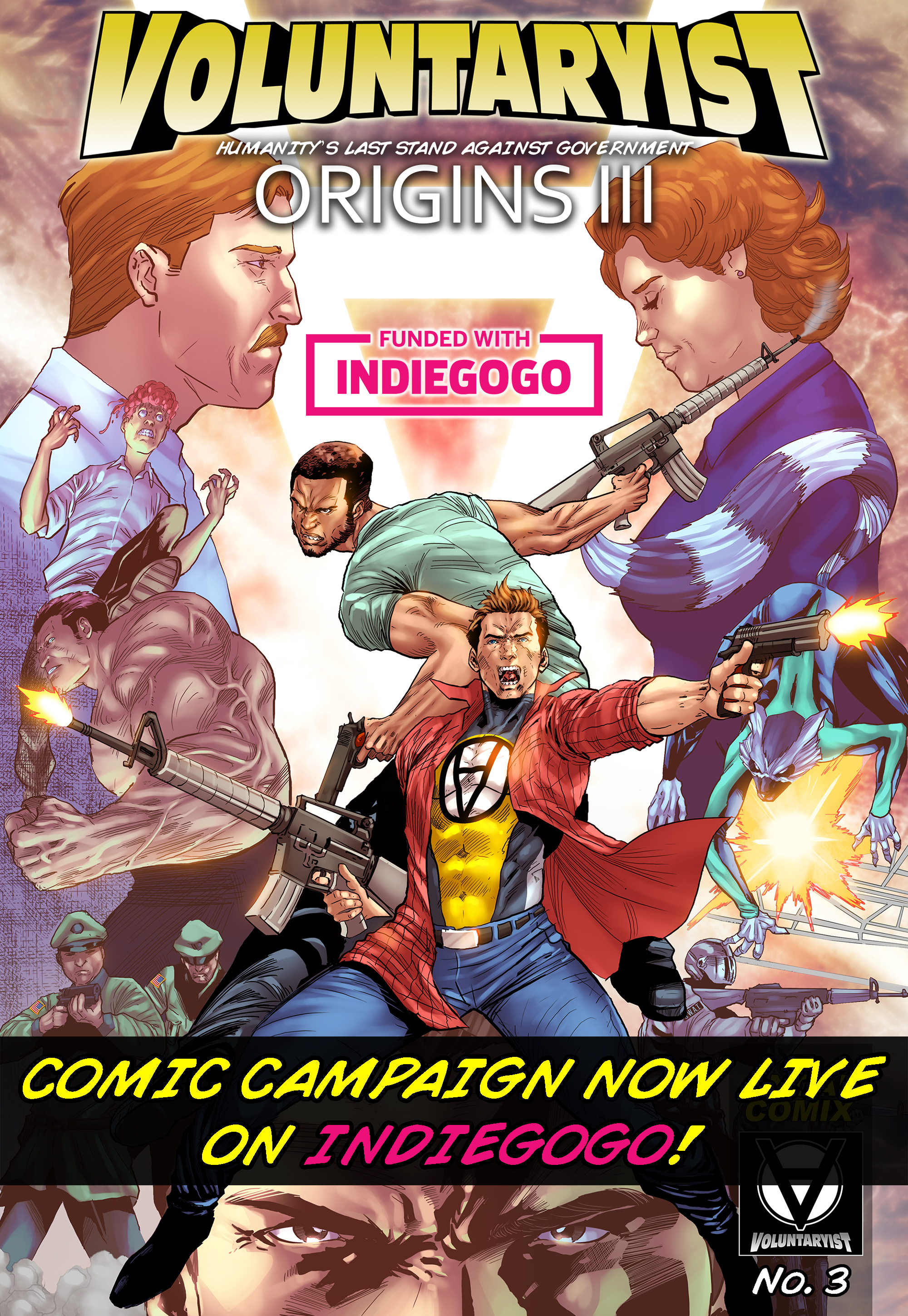 voluntaryist origins III indiegogo promo cover