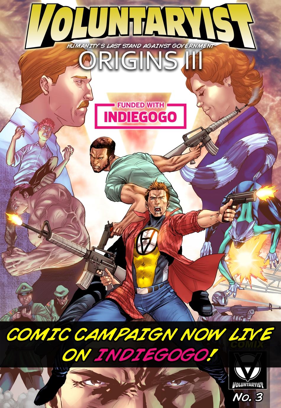 voluntaryist origins III indiegogo promo cover