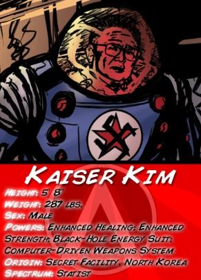 Kaiser Kim Jong Character Card v2