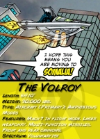 The Volroy Character Card