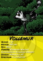 Vollemur Comic Card