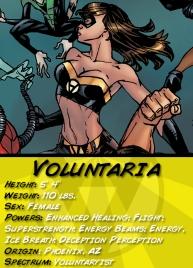 Voluntaria Character Card