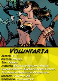 Voluntaria Character Card