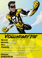 Voluntaryist Comic Card